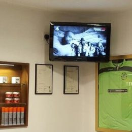 Commercial TV wall mounting Bristol