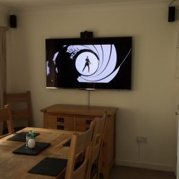 Television wall mounting Weston super mare