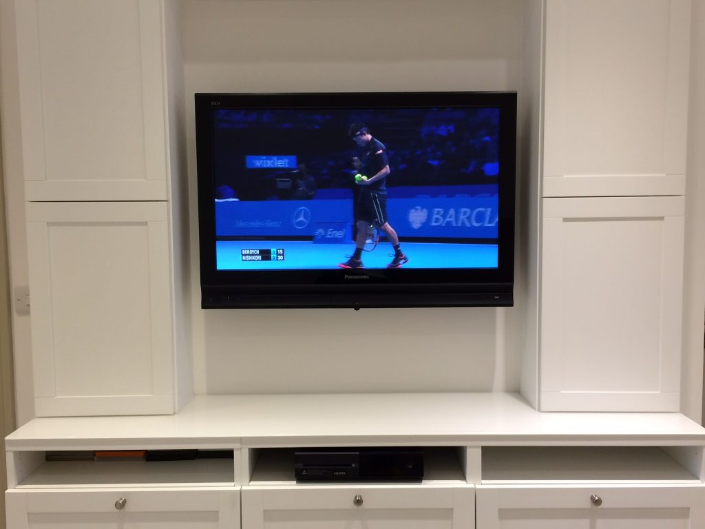 Panasonic plasma wall mounting in Bristol and south west