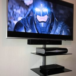 Television and sound bar mounting in Bristol